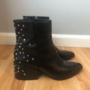 Rae Studded Ankle Boots